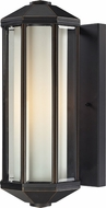 Z-Lite 526-ORB Cylex Oil Rubbed Bronze 6  Wide Exterior Wall Sconce Lighting