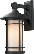 Z-Lite 527B-BK Woodland Black 10  Wide Exterior Wall Light Fixture