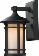 Z-Lite 527S-BK Woodland Black 6  Wide Exterior Wall Lighting Sconce