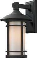 Z-Lite 528B-ORB Woodland Oil Rubbed Bronze 18.125  Tall Outdoor Wall Sconce Lighting