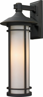 Z-Lite 530B-ORB Woodland Oil Rubbed Bronze 25.5 Tall Outdoor Wall Sconce