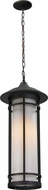 Z-Lite 530CHB-ORB Woodland Oil Rubbed Bronze 10 Wide Exterior Hanging Light Fixture