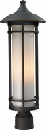 Z-Lite 530PHM-ORB Woodland Oil Rubbed Bronze 8.125 Wide Exterior Lighting Post Light