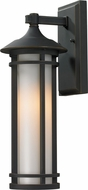 Z-Lite 530S-ORB Woodland Oil Rubbed Bronze 16.625 Tall Outdoor Wall Lighting