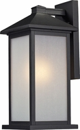 Z-Lite 547M-BK Vienna Black 18  Tall Outdoor Light Sconce