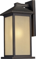 Z-Lite 548B-ORB Vienna Oil Rubbed Bronze 22 Tall Outdoor Lighting Sconce