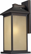 Z-Lite 548M-ORB Vienna Oil Rubbed Bronze 8 Wide Exterior Lamp Sconce