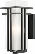 Z-Lite 549M-BK Abbey Black 6.625  Wide Exterior Wall Light Fixture