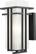 Z-Lite 549S-BK Abbey Black 11.75  Tall Outdoor Lighting Wall Sconce