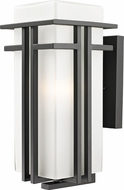 Z-Lite 550B-ORBZ Abbey Oil Rubbed Bronze 7.75 Wide Exterior Wall Lighting Sconce