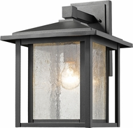 Z-Lite 554B-BK Aspen Black Outdoor Lighting Wall Sconce