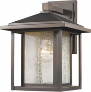 Z-Lite 554M-ORB Aspen Oil Rubbed Bronze Exterior Wall Mounted Lamp