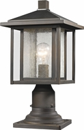 Z-Lite 554PHM-554PM-ORB Aspen Oil Rubbed Bronze Outdoor Post Light Fixture