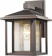 Z-Lite 554S-ORB Aspen Oil Rubbed Bronze Exterior Wall Lighting Fixture