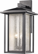 Z-Lite 554XL-BK Aspen Black Outdoor Wall Light Sconce
