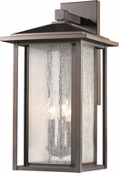 Z-Lite 554XL-ORB Aspen Oil Rubbed Bronze Exterior Wall Sconce Light