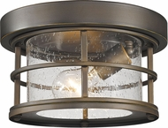Z-Lite 555F-ORB Exterior Additions Oil Rubbed Bronze Exterior Ceiling Lighting Fixture