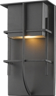 Z-Lite 558B-BK-LED Stillwater Contemporary Black LED Exterior Wall Sconce