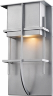 Z-Lite 558M-SL-LED Stillwater Modern Silver LED Outdoor Lighting Sconce