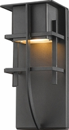Z-Lite 558S-BK-LED Stillwater Contemporary Black LED Exterior Lamp Sconce