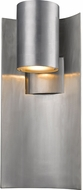 Z-Lite 559B-SL-LED Amador Modern Silver LED Outdoor Wall Sconce Lighting