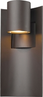 Z-Lite 559M-DBZ-LED Amador Modern Deep Bronze LED Outdoor Wall Light Sconce