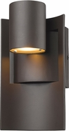 Z-Lite 559S-DBZ-LED Amador Contemporary Deep Bronze LED Exterior Wall Sconce Light