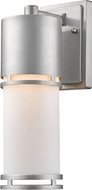 Z-Lite 560M-BA-LED Luminata Contemporary Brushed Aluminum LED Exterior Wall Sconce Lighting