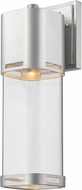 Z-Lite 562B-BA-LED Lestat Modern Brushed Aluminum LED Outdoor Wall Sconce Lighting