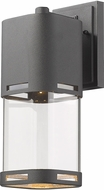 Z-Lite 562M-BK-LED Lestat Contemporary Black LED Exterior Wall Sconce Lighting