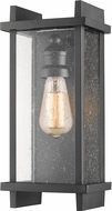 Z-Lite 565S-BK Fallow Contemporary Black Outdoor Lighting Wall Sconce