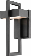 Z-Lite 566S-BK-LED Luttrel Contemporary Black LED Outdoor Wall Light Sconce