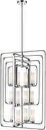 Z-Lite 6000-12-CH Aideen Contemporary Chrome Foyer Lighting Fixture