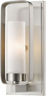 Z-Lite 6000-1S-BN Aideen Modern Brushed Nickel Wall Lamp