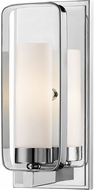 Z-Lite 6000-1S-CH Aideen Modern Chrome Sconce Lighting