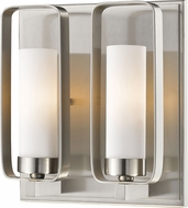 Z-Lite 6000-2S-BN Aideen Contemporary Brushed Nickel Light Sconce