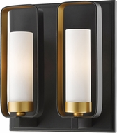 Z-Lite 6000-2S-BZGD Aideen Modern Bronze Gold Lighting Sconce
