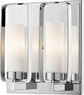 Z-Lite 6000-2S-CH Aideen Contemporary Chrome Lamp Sconce