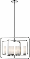 Z-Lite 6000-8A-CH Aideen Modern Chrome Drop Lighting