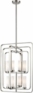 Z-Lite 6000-8B-BN Aideen Contemporary Brushed Nickel Entryway Light Fixture
