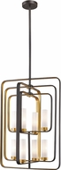 Z-Lite 6000-8B-BZGD Aideen Modern Bronze Gold Foyer Lighting
