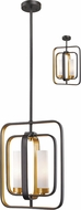 Z-Lite 6000MP-BZGD Aideen Contemporary Bronze Gold Mini Ceiling Light Pendant