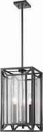 Z-Lite 6005-3BRZ Braum Modern Bronze 9  Entryway Light Fixture