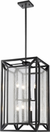 Z-Lite 6005-8BRZ Braum Modern Bronze 15  Foyer Light Fixture