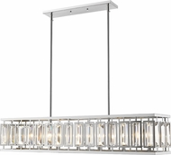 Z-Lite 6006-44CH Mersesse Chrome 44.5  Kitchen Island Light Fixture