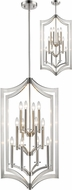 Z-Lite 6008-12BN Zander Contemporary Brushed Nickel Foyer Lighting Fixture