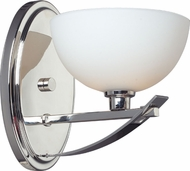 Z-Lite 605-1S Ellipse Chrome Halogen Wall Lighting Fixture