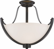 Z-Lite 7000SF-BRZ Halliwell Bronze Overhead Lighting