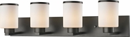 Z-Lite 705-4V-BRZ Roxburgh Bronze 4-Light Bathroom Lighting