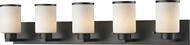 Z-Lite 705-5V-BRZ Roxburgh Bronze 5-Light Lighting For Bathroom